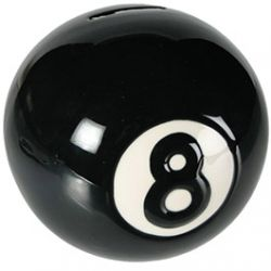 Tirelire Boule de Billard N8