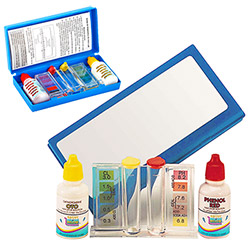 Coffret d'Analyse Eau Piscine PH et Chlore
