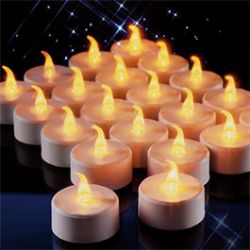 18 Bougies LED sans flamme