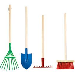 Set de 4 Outils de Jardinage pour Enfant