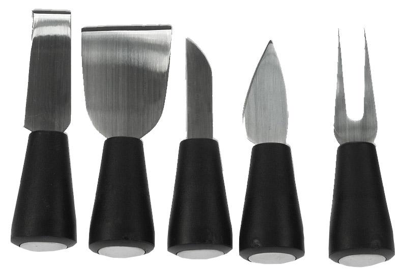couteaux fromage set fromage avec 5 couteaux. Black Bedroom Furniture Sets. Home Design Ideas