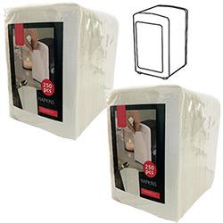 Recharge 500 Serviettes en Papier pour Distributeur