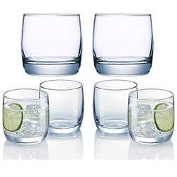 6 Verres French Brasserie pour eau/whisky/jus