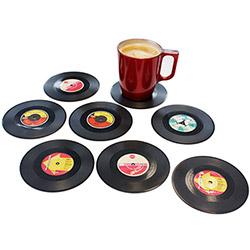 8 Dessous de Verre Vinyle