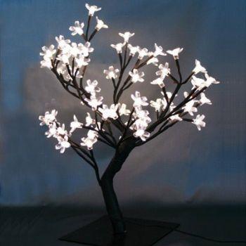 Arbre Lumineux 48 LED - Blanc