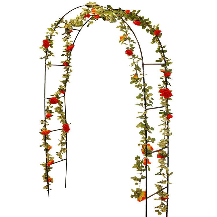 arche de jardin pour rosier et plantes grimpantes ou mariage. Black Bedroom Furniture Sets. Home Design Ideas