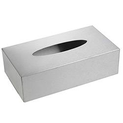 Boîte à Mouchoirs en Inox Brossé