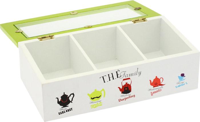 boite th et tisane en bois. Black Bedroom Furniture Sets. Home Design Ideas