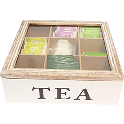 Boite à Thé 9 Compartiments Tea