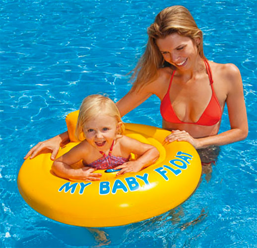 Bou e gonflable piscine b b assise tr s confortable - Piscine bebe gonflable ...