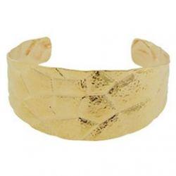 Bracelet ouvert plaqué Or