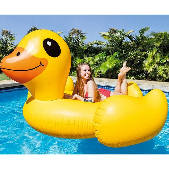 Canard gonflable g ant xxl jardin piscine loisirs et for Piscine de jardin gonflable castorama