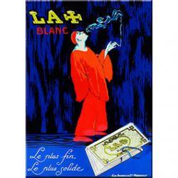 Carte Métal Papier à Cigarettes Riz la Croix 15x21 cm