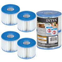 4 Cartouches de Filtration Intex pour Spa Intex