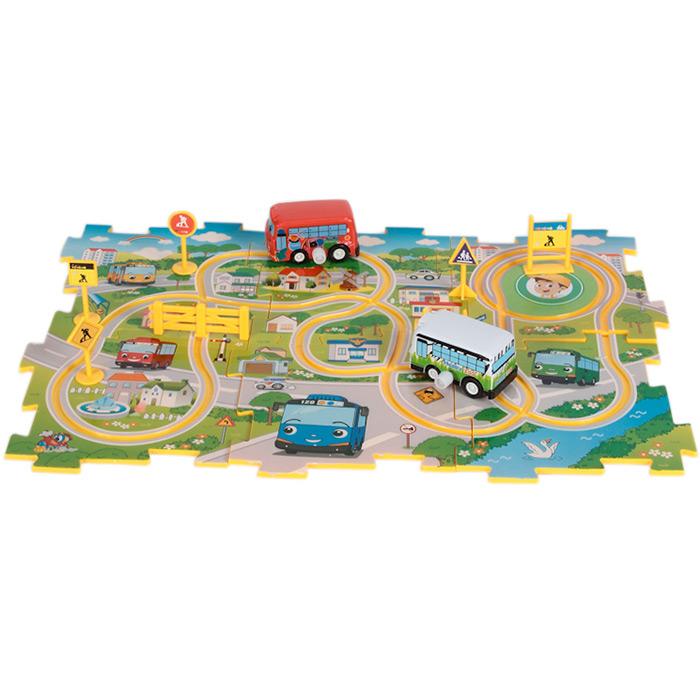 circuit de voitures miniatures enfant piste avec voitures m caniques ebay. Black Bedroom Furniture Sets. Home Design Ideas