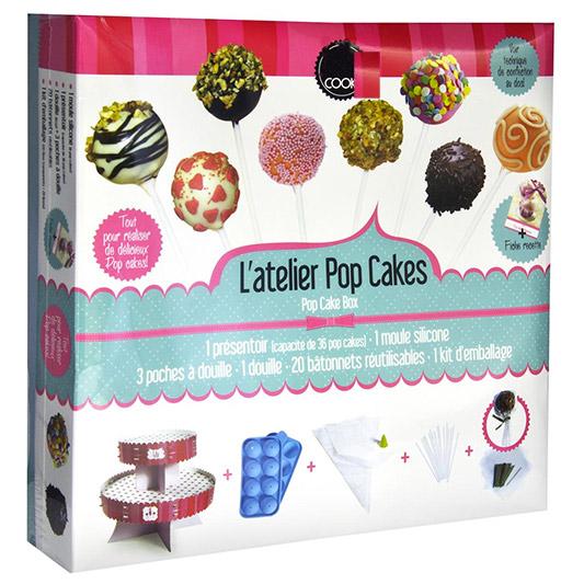 coffret pop cakes 27 accessoires patisserie cuisine. Black Bedroom Furniture Sets. Home Design Ideas