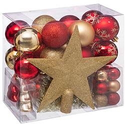 Coffret 44 Pièces Décoration de Noël