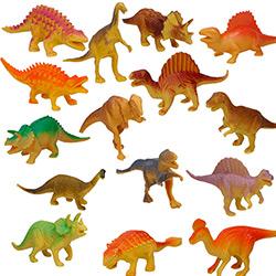 Coffret 15 Figurines de Dinosaures