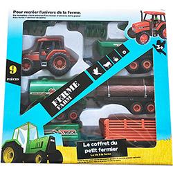 Coffret Tracteur 9 accessoires