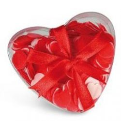 Confettis de Bain parfumés Coeurs