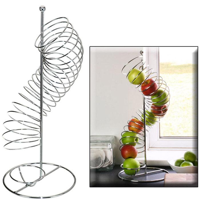 Corbeille distributeur fruits pomme orange - Distributeur art de la table ...