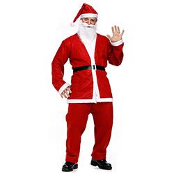 Déguisement de Père Noël 5 Pièces
