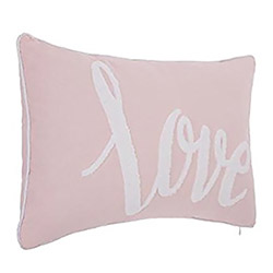 Coussin Love Rose 30x50 cm