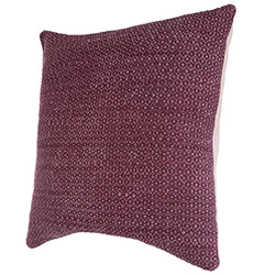 Coussin Déhoussable Rouge Berry Stone