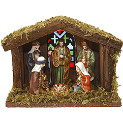 Crèche de Noël Lumineuse