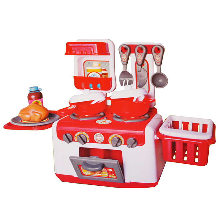cuisini re cuisine enfant nombreux accessoires avec lumi re ebay. Black Bedroom Furniture Sets. Home Design Ideas