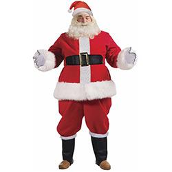 Déguisement de Père Noël Luxe 9 Pièces