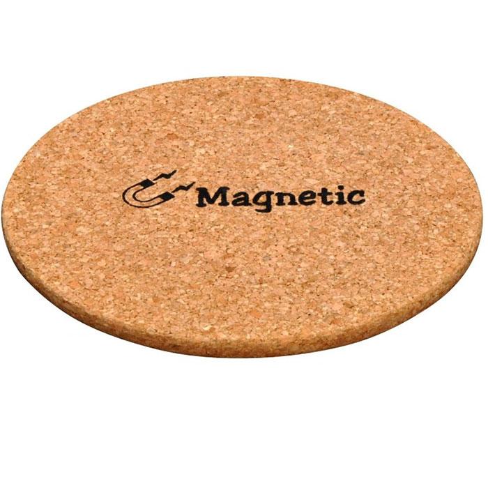2 dessous de plat magn tiques en li ge pratiques. Black Bedroom Furniture Sets. Home Design Ideas