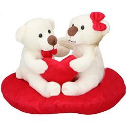 Deux Ours en Peluche sur Coeur