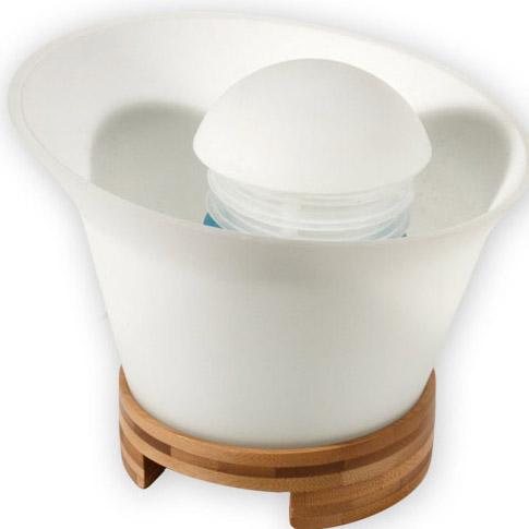 diffuseur d 39 huiles essentielles verre support bambou. Black Bedroom Furniture Sets. Home Design Ideas