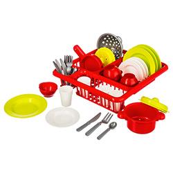 Egouttoir à Vaisselle Dinette Enfant 30 Accessoires