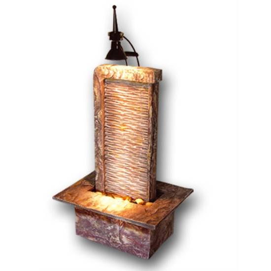 fontaine lumineuse relaxante mur deau zen - Fontaine A Eau Zen