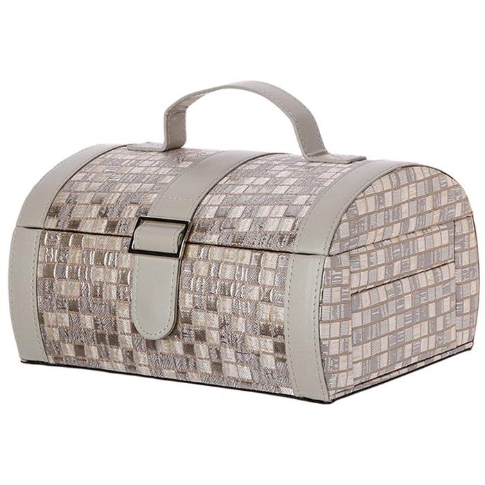 grande boite bijoux silver crin d 39 l gance pour bijoux. Black Bedroom Furniture Sets. Home Design Ideas