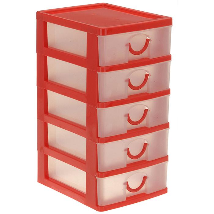 Bloc avec boites de rangement 5 tiroirs