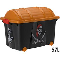 Grande Caisse de Rangement Jouets Pirate