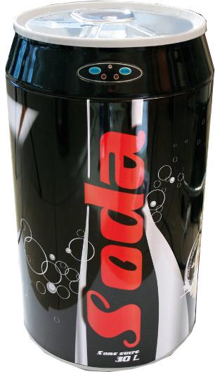 grande poubelle ouverture automatique design soda. Black Bedroom Furniture Sets. Home Design Ideas