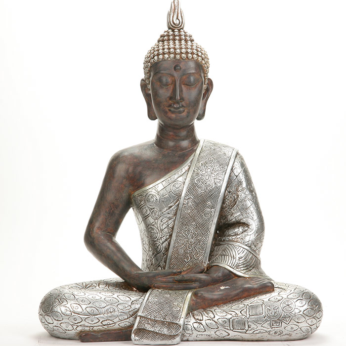 tr s grande statue bouddha de 62 cm de haut. Black Bedroom Furniture Sets. Home Design Ideas