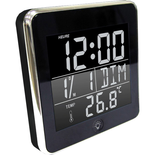 horloge r veil digitale design