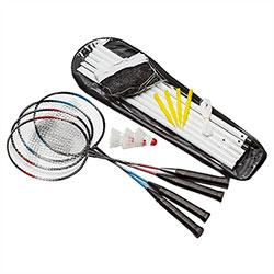 Jeu de Badminton 4 joueurs