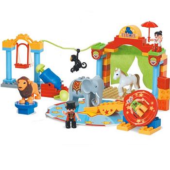 Jeu de Construction Cirque 55 pièces