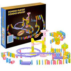 Grand Parcours de Dominos 158 pièces