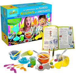 Kit Slime Laboratoire des fluides dégoutants et amusants
