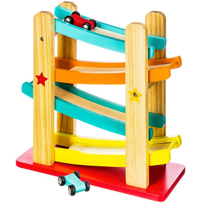 toboggan de course en bois enfants loisirs et jeux. Black Bedroom Furniture Sets. Home Design Ideas