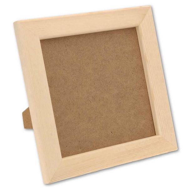 kit de moulage d 39 empreintes main b b enfant 3d pl tre cadre en bois ebay. Black Bedroom Furniture Sets. Home Design Ideas