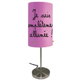 Lampe Mots en couleurs, modèle au choix