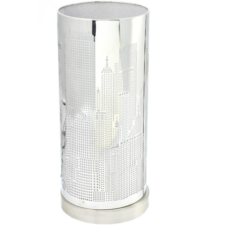 lampe new york tactile en m tal design original. Black Bedroom Furniture Sets. Home Design Ideas